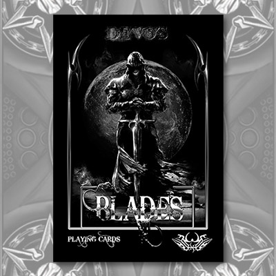 Midnight Edition Blades Playing Cards (Limited Edition) - De'Vo