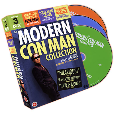 Modern Con Man Collection (3 DVD Set) - Todd Robbins