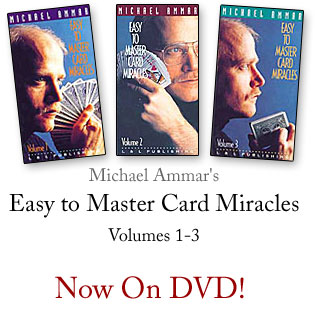 Easy To Master Card Miracles Ammar - #1