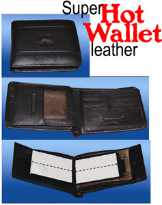 Hot Fire Wallet Leather, Super - Tora