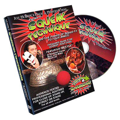 Squeak Technique - DVD and Squeakers - Jeff McBride