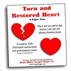 Torn and Restored Heart
